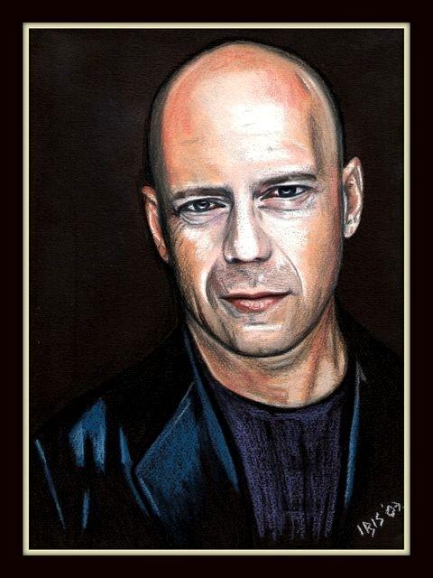 Bruce Willis by KatarinaIris